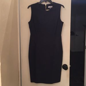 Calvin Klein paisley dress